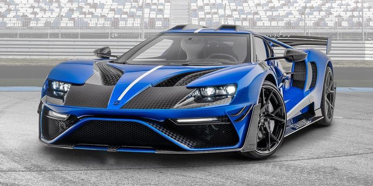 Mansory's Awful-Looking, 700-HP Ford GT Will Cost You $2.1 Million