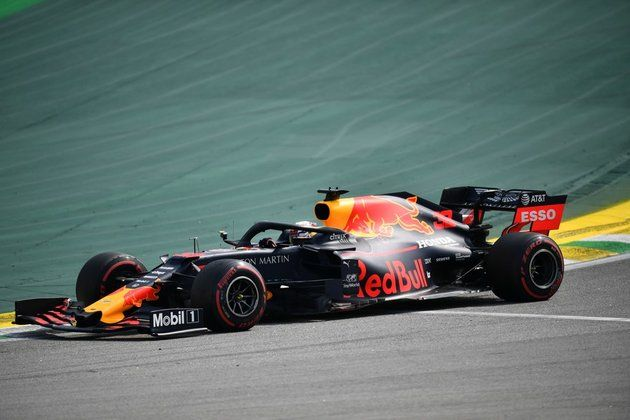 Verstappen takes surprise F1 70th Anniversary GP win