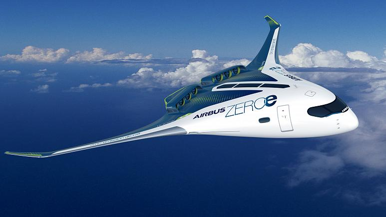 Airbus unveils concepts for zero-emission planes powered by hydrogen