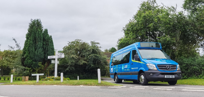 Innovative on-demand rural public transport launched in north of England