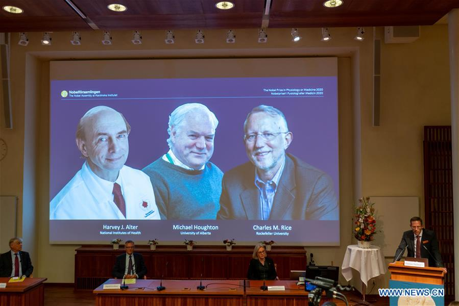 Discoverers of Hepatitis C Awarded the 2020 Nobel Prize in Medicine