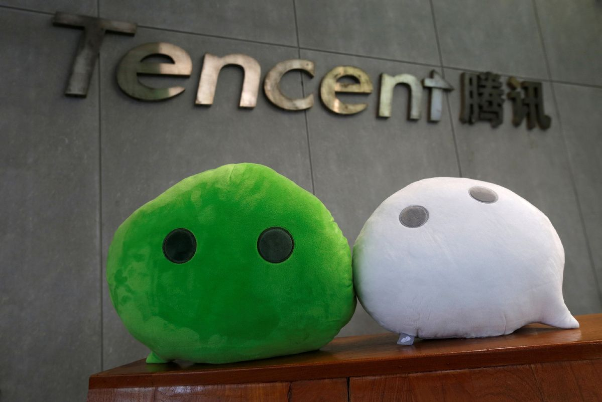 Tencent backs antimonopoly rules