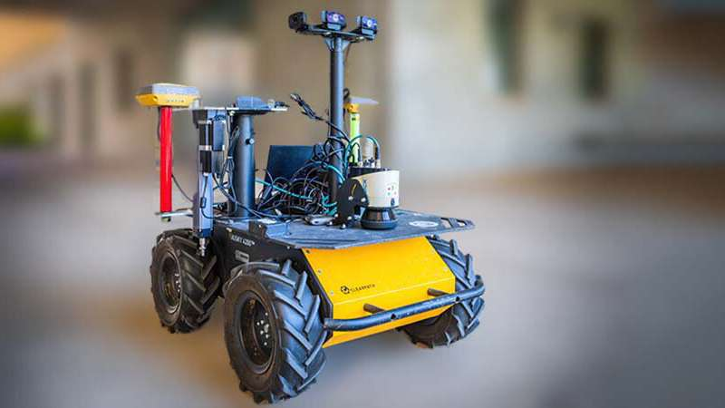 A robot that tells growers when to water crops is on the way