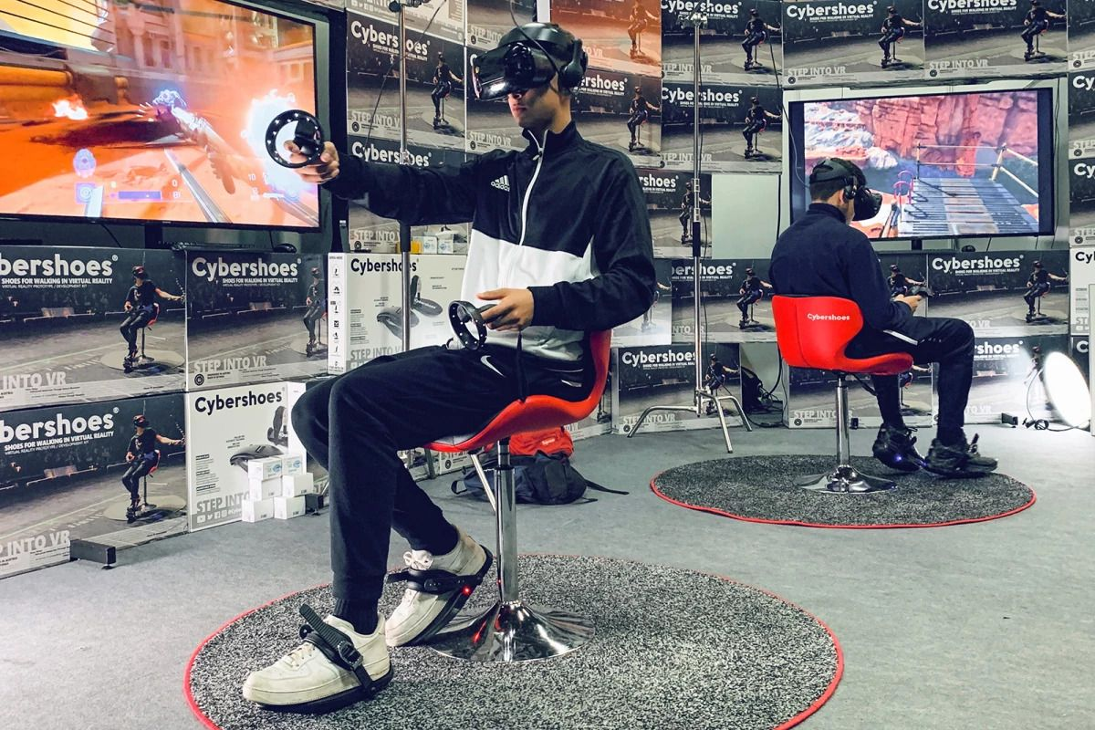 Cybershoes could solve the problem of walking around in VR