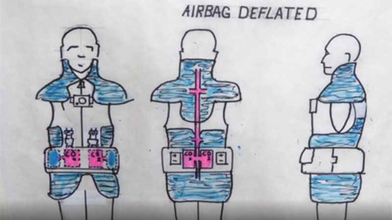 St. Thomas students create wearable airbag to prevent injuries from falls