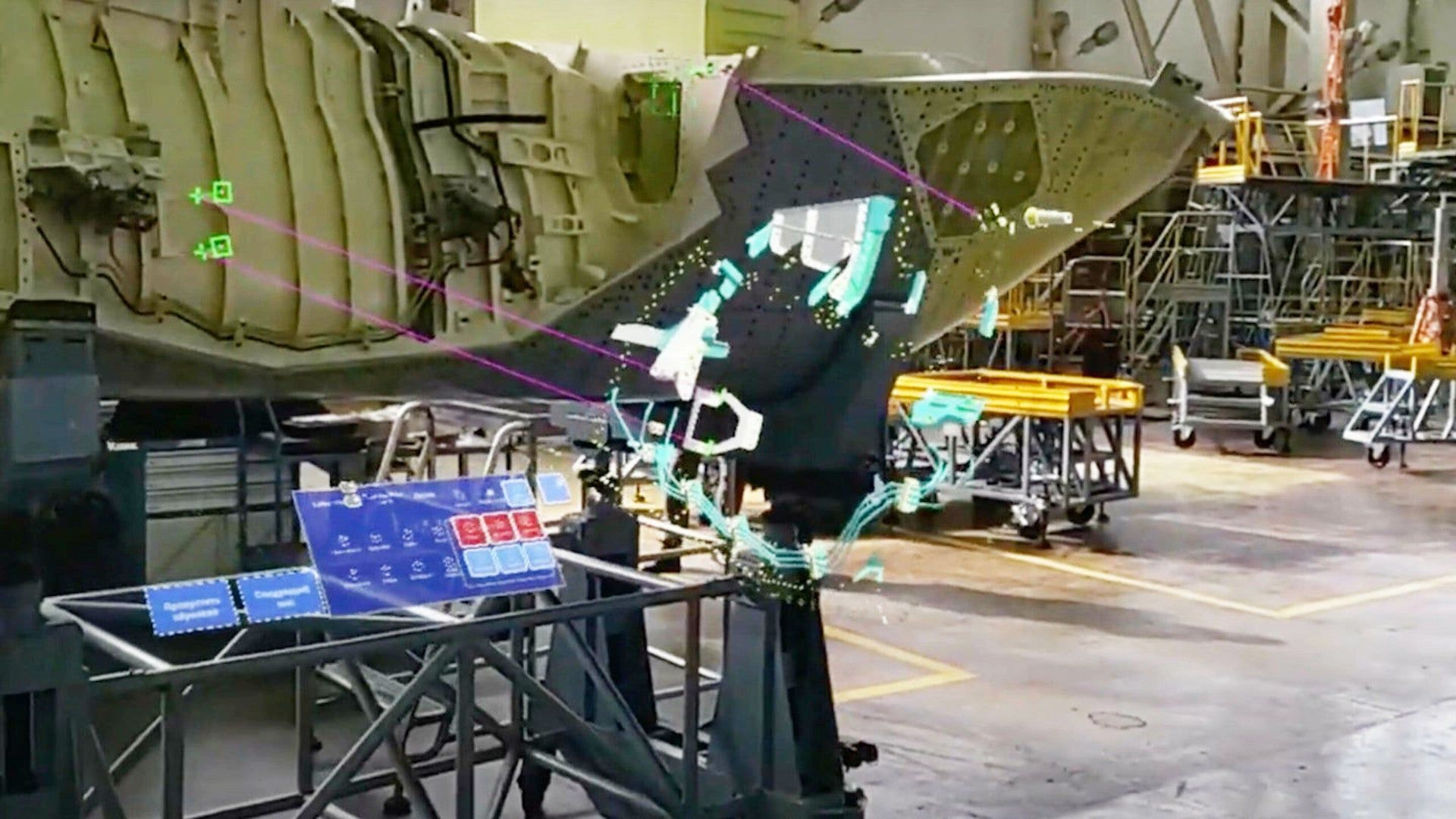Russia Is Using Augmented Reality To Produce Its Su-57 Fighter