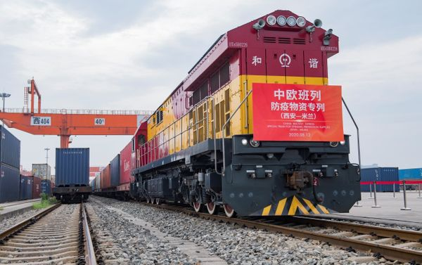 China-Europe freight services contribute to global intermodal transport