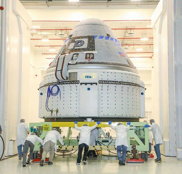 Boeing's Starliner Makes Progress at Kennedy Space Center Ahead of Flight Test with Astronauts