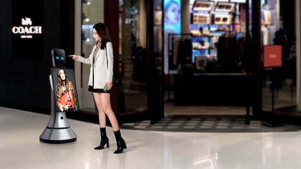 Robots help upgrade shopping malls