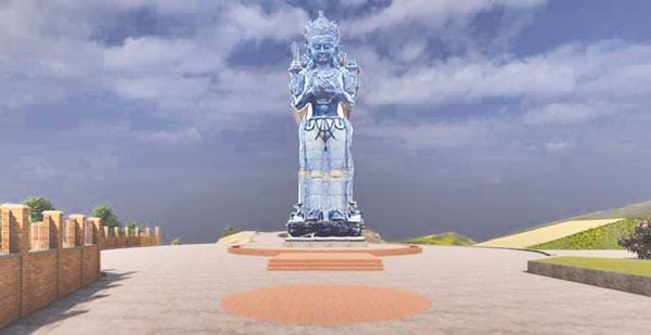 Manjushree Sculpture Claims To Be The World's Tallest Monument