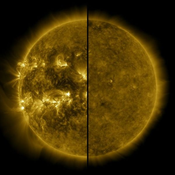 The sun has begun a new solar weather cycle. It should be pretty quiet, scientists say.
