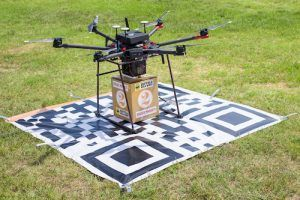 Deuce Drone Demonstrates UAS Package Delivery Service