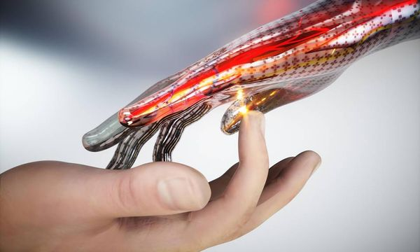 Electronic skin can sense touch, pain just like human skin