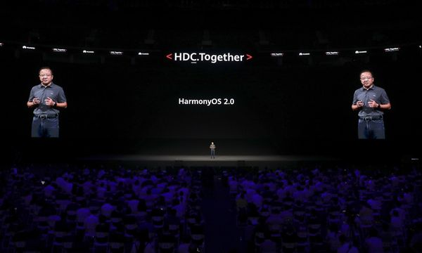 Huawei launches updated HarmonyOS to challenge US