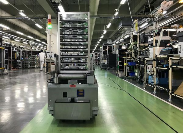 AI quality inspection robots playing bigger role at factories in Japan