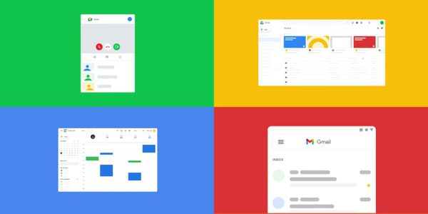 Gmail, Calendar, Drive, Docs, and Meet getting new icons as part of Google Workspace