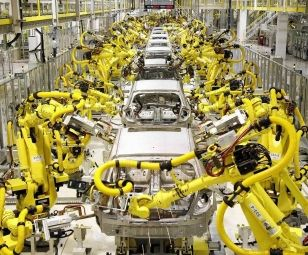 China's industrial robot production surges in September