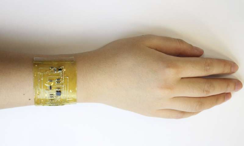 'Electronic skin' promises cheap and recyclable alternative to wearable devices