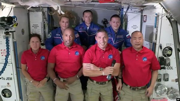 Astronauts Begin New Mission on International Space Station