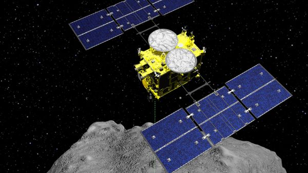 Japanese spacecraft carrying asteroid soil samples nears home