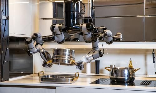 The robot kitchen that will make you dinner – and wash up too