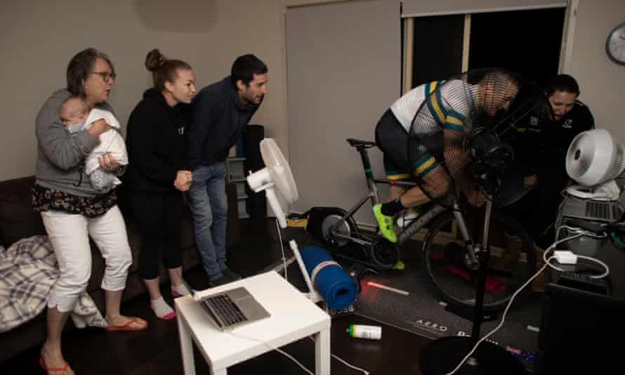 Virtual reality: how cyclists are pedalling through the pandemic