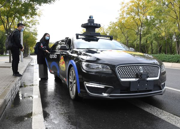 Baidu gets nod for fully driverless vehicle tests