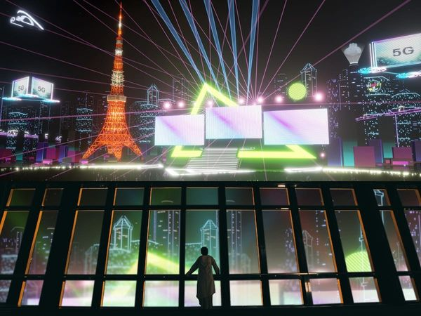 'Virtual Tokyo Tower' lets you experience a highly futuristic version of the tower in VR