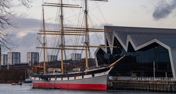 Historic Clyde-built Glenlee honoured in new Spanish sailing ship design