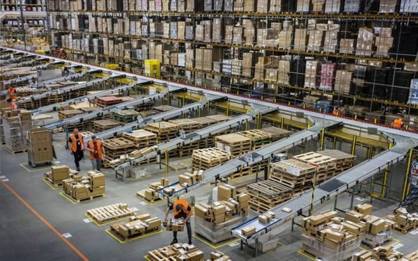 Amazon tracks workers after five minutes of inactivity