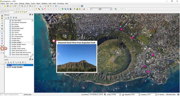 Mapping And Viewing Geotagged Photos In QGIS