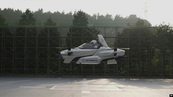 'Flying Car' Test Successful for Japanese Company